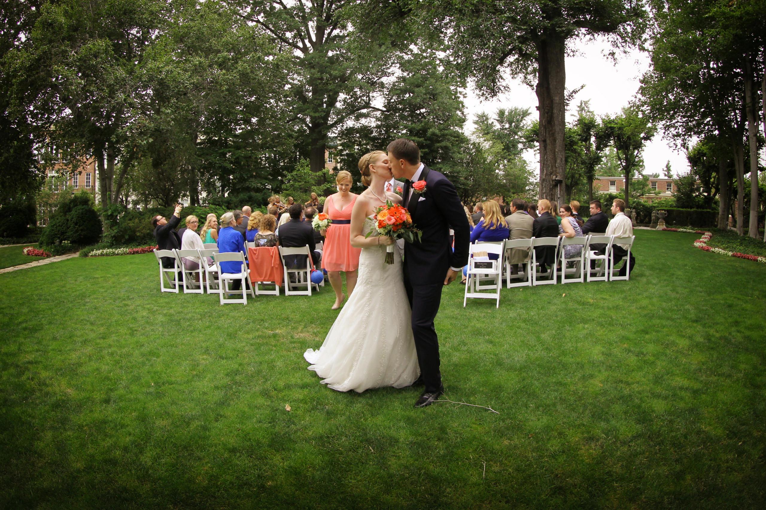Washington firehouse wedding